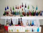 Harold Carlton's Violin Bottles Display