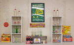 Gray 2013 Display #2 features the evolution of Double Cola by Joseph Lee