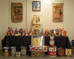 Display #4 featured advertising items portraying native americans by Miles & Tammy Cox