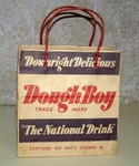 Dough Boy bag used instead of a carton for transporting drink bottles.