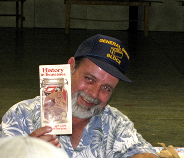 Richard Begley found Tennessee history in a jar!