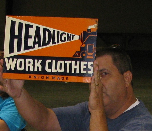 Sam & Missi Crowder found this unusual sign.