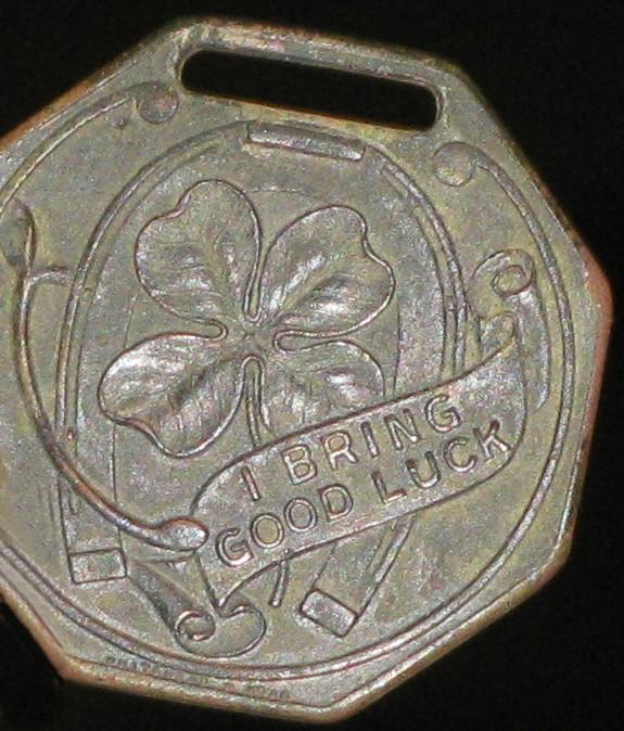 One of Kurt Rodger's tokens.